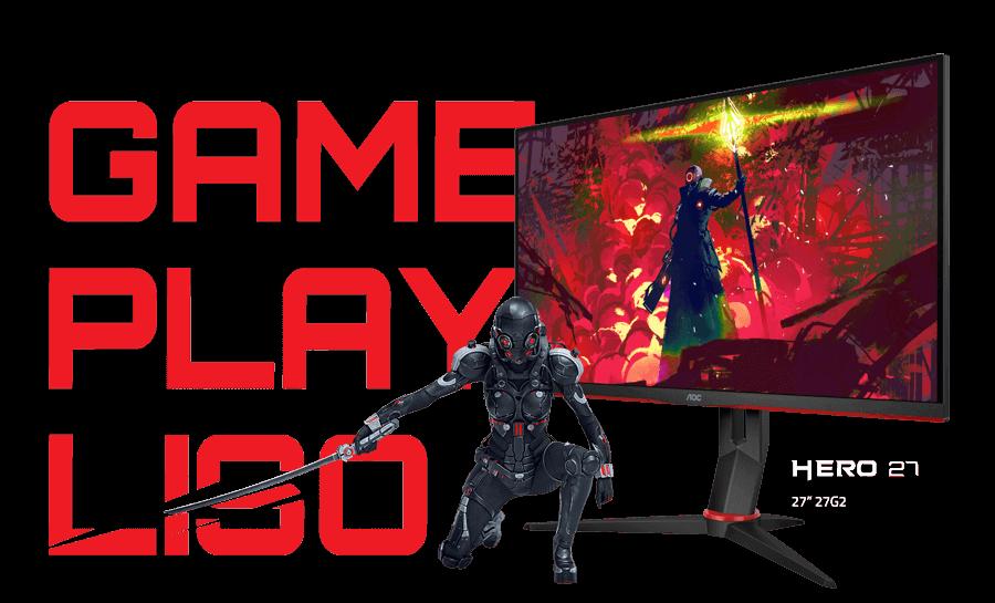 Monitor Gamer AOC 27G2/BK