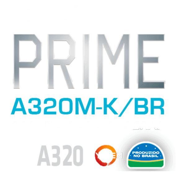 Placa mãe Prime-A320M-K/BR