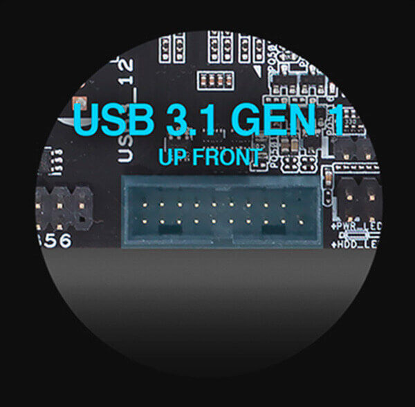 USB 3.1 painel frontal