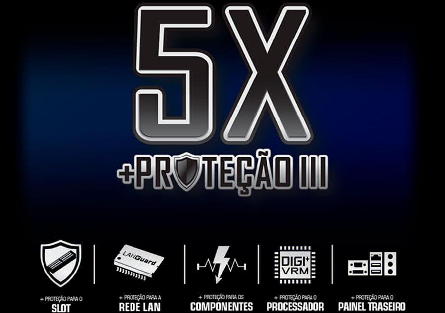 Proteção 5X Proteção