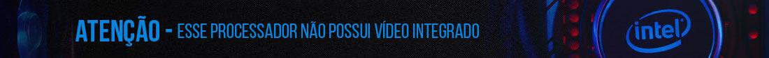 nao acompanha video integrado