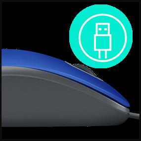 Conexão USB Plug-and-play