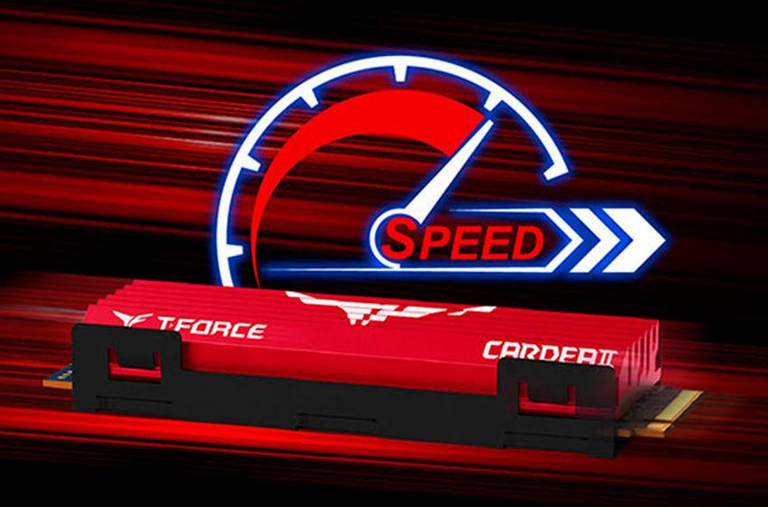 Alta velocidade suporta a nova interface