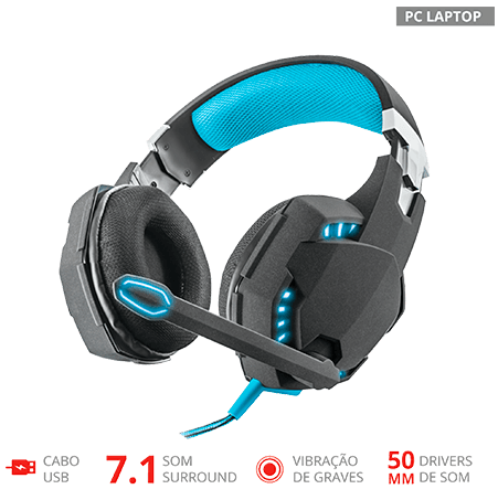 Headset Gamer GXT 363