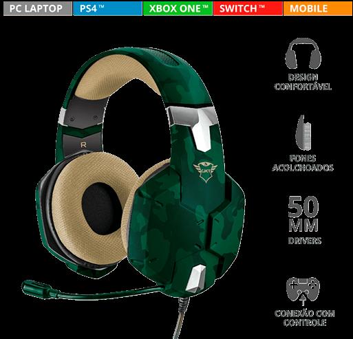Headset Gamer GXT 322C