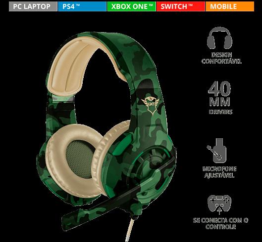 Headset Gamer GXT 310C